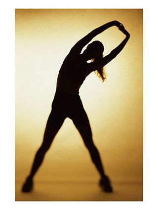 SuperStock1042R-9813Silhouette-of-a-Woman-Exercising-Posters-main_Full
